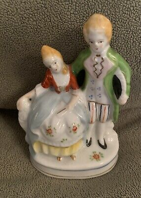 $ CDN24 • Buy Made In Occupied Japan Colonial Man And Woman Porcelain Figurine