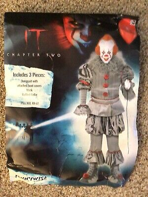 $28 • Buy IT Clown Costume Movie Chapter 2 Size XXL Adult No Mask Included NEW