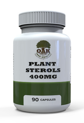 £16.99 • Buy Plant Sterol 500mg Capsules For Reducing Cholesterol Levels And Weight Loss Help