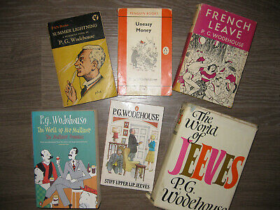 £67 • Buy P G Wodehouse Vintage Collection French Leave World Of Mr Mulliner Jeeves Summer