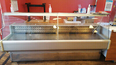 £875 • Buy Serve Over Display 2.40 M Counter Chiller Meat Dairy Fridge Deli Counter