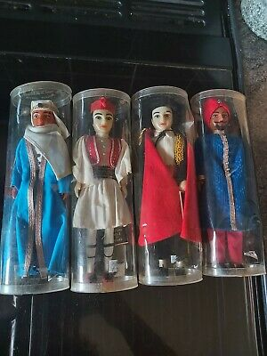 £5 • Buy 4 X Rexard Costume Male Dolls, Lawrence Of Arabia, Greek Solider, Indian Prince,