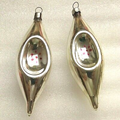 $ CDN28.94 • Buy 2 Old Vintage Glass Russian USSR Christmas Xmas Ornaments Decorations Icicles