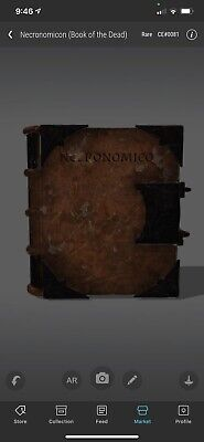 $500 • Buy VeVe NFT Call Of Cthulhu Necronomicon Book Of Dead - RARE CE#0081 ⚡️Fast Send⚡️
