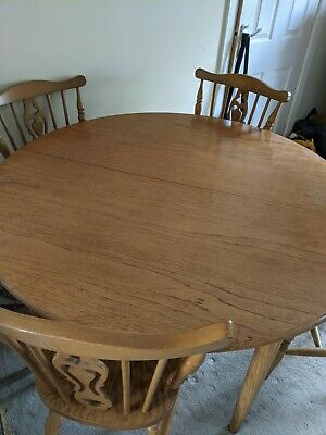 £25.60 • Buy Younger Furniture Vintage Teak Round Table And Chairs - John Herbert