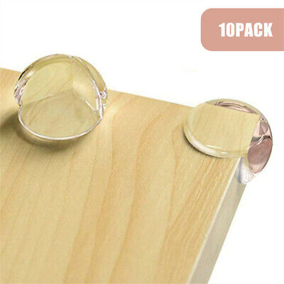 £0.01 • Buy 10x Clear Rubber Furniture Corner Edge Cushion Table Guard Protector Baby Safty