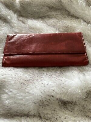 $ CDN13.85 • Buy Tula Red Leather Purse/ Wallet