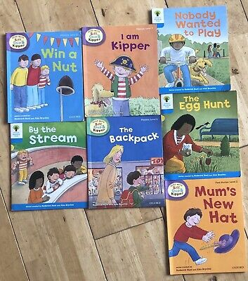 £5 • Buy 7 Oxford Reading Tree Read With Biff Chip And Kipper Level 2 & 3 Books