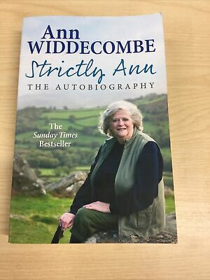 £2.95 • Buy Strictly Ann: The Autobiography, Ann Widdecombe Signed Paperback Book VGC