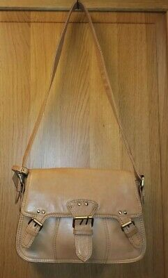 £12.50 • Buy Lloyd Baker  Small Tan Real Leather Satchel Shoulder Bag- Excellent Condition