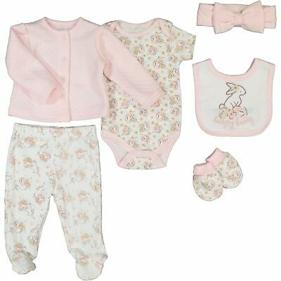 £9.99 • Buy KYLE & DEENA Pink & White Floral Six Pieces Set 6-9 Months Baby Gift Set