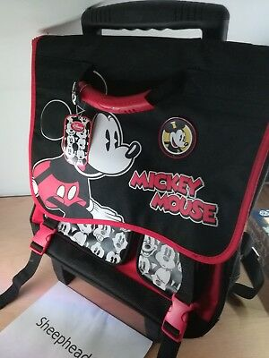 £25 • Buy Official Disney Store Mickey Mouse Trolley Bag/Backpack - New With Tags