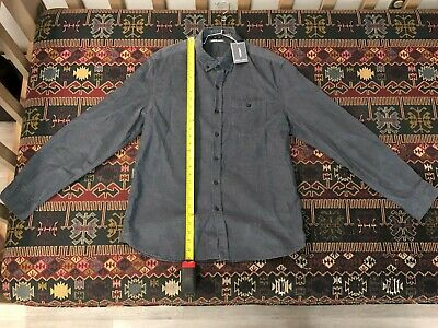 $15 • Buy Michael Bastian, Long Sleeve Shirt, Blue Corduroy, New With Tags, $128 Retail
