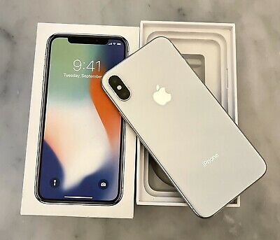 AU395.99 • Buy IPhone X 256Gb - Silver. Excellent Used Condition
