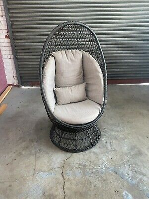 AU220 • Buy Tofs Outdoor Swivel Egg Chair + Delivery Included