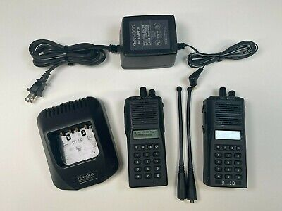 £28.03 • Buy (2) Kenwood TK-480 800 MHz FM Transceiver Walkie Talkie, W/charger See Notes