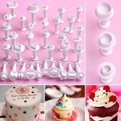 £1.25 • Buy 3/4Pcs Star Fondant Decorating Biscui Plunger Cutter Mold Cake Tools DIY Mould