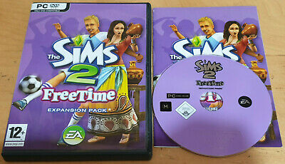 £6.49 • Buy The Sims 2 Free Time Expansion Pack For PC DVD Rom Complete
