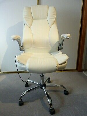 AU76 • Buy Artiss Faux Leather Massage Office Chair - White