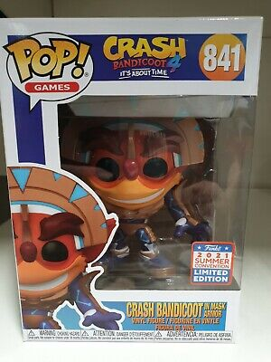 £27.99 • Buy 2021 Limited Edition Summer Convention Crash In Mask Armor  Funko Pop Mint