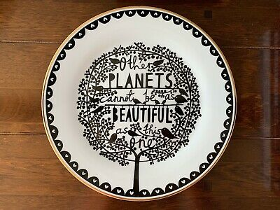 £38 • Buy Rob Ryan 2010 Ceramic Plate Mint Cdn. Other Planets Cannot Be As Beautiful...