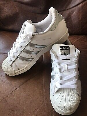 AU15.13 • Buy Adidas Superstar Women's Trainers Size UK4 In Excellent Used Condition