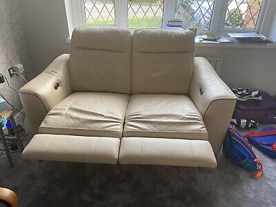 £92 • Buy Leather 2 Seater 3 Piece Suite