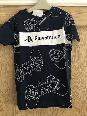 £1.99 • Buy Playstation Navy Controller T Shirt. Age 6-7 New With Tags