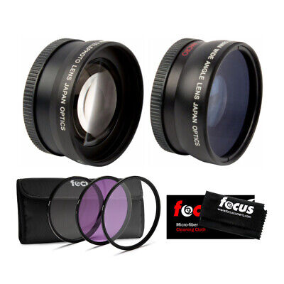 AU33.37 • Buy Essential Accessories Lens And Filter Kit For Sony A6000, A6300, A6500