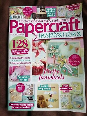 £1.99 • Buy Papercraft Inspirations Magazine 154 With Free  Fruit Salad Papers