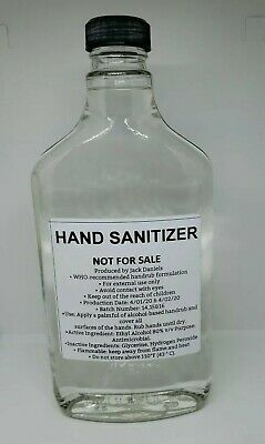£72.10 • Buy Rare Collectable Jack Daniels 375ml Empty Sanitizer Bottle Never Sold To Public