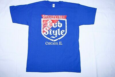 £13.15 • Buy Chicago Cubs WrigleyVille Cubs Style T-Shirt Sizes (S-5XL) FREE SHIPPING