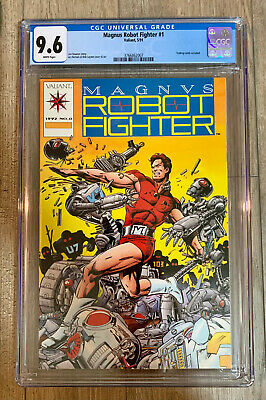 $49.99 • Buy Magnus Robot Fighter #0 (w/ Trading Cards) - CGC 9.6