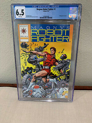 $15.99 • Buy Magnus Robot Fighter #0 (w/ Trading Cards) - CGC 6.5