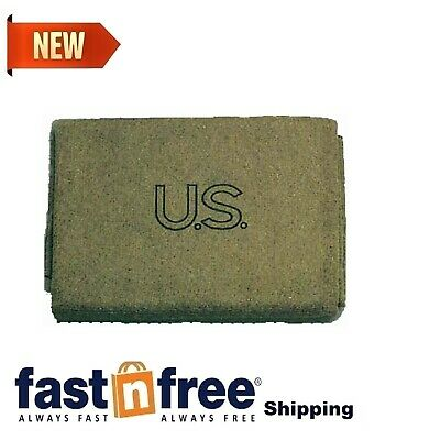 $26.01 • Buy Military Outdoor Clothing U.S. Style Wool 3-Pound Military Blanket Soft