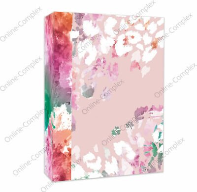 £4.99 • Buy Home Collection Slip In Photo Albums 4 X 6  Pink Floral Album Holds 80 Photos🌸