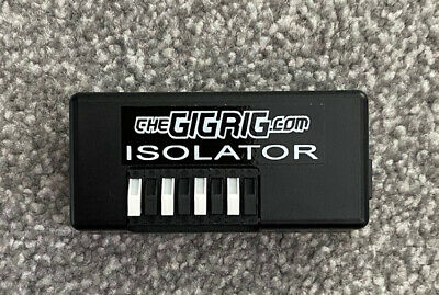 $ CDN60.75 • Buy Gigrig Isolator 9v In/ 4 X 9v 135mA Isolated Out Guitar Pedal Board Power Supply