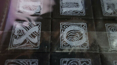 £1.99 • Buy Celtic Alphabet Rubber Stamps 26pcs For Cardmaking, Scrapbooking, Mixed Media