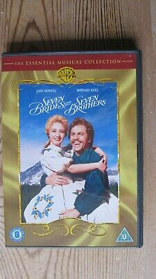£0.99 • Buy Seven Brides For Seven Brothers DVD (Played Once - Perfect)