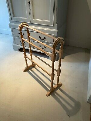 £35 • Buy Antique Pine Towel Rail. Lovely Condition Vintage..Must Go!!