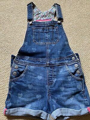 £5 • Buy Girls Boden Dungaree Shorts Age 7-8