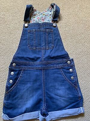 £5.50 • Buy Girls Boden Dungaree Shorts Age 7-8