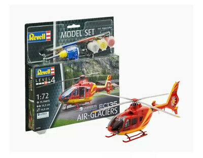 £15.99 • Buy EC 135 Air-Glaciers Helicopter 1:72 Model Kit 64986 / 04986 REVELL Ages 10+ NEW