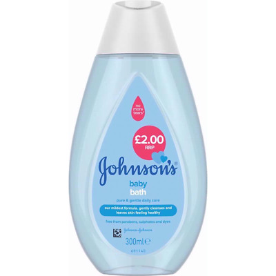£14.99 • Buy 6x Johnsons Baby Bath 300ml PH Balanced Gentle Daily Care For Delicate Skin UK