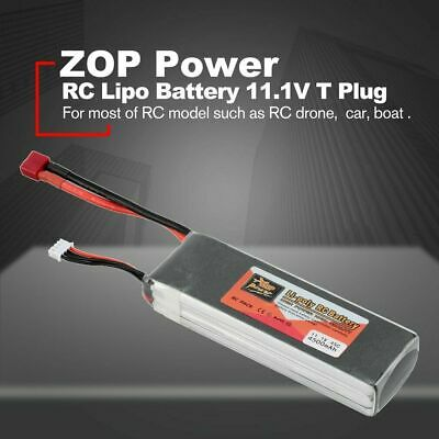 £26.89 • Buy 11.1V 3s LiPo Battery 45C Deans T For RC Car Truck Airplane FPV 4500mAh