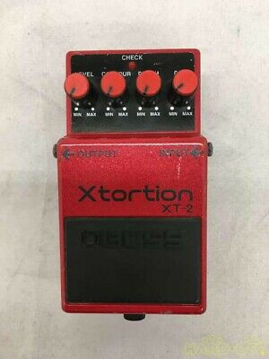 $ CDN135.42 • Buy BOSS XT-2 Xtortion Distortion Guitar Effect Pedal From Japan Used F/S