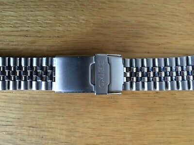 £18 • Buy SEIKO 20mm DIVERS JUBILEE STAINLESS STEEL WATCH STRAP FOR SEIKO WATCHES LUG 20mm
