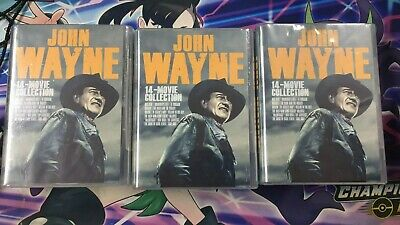 $30 • Buy John Wayne: 14-Movie Collection [New DVD] Boxed Set, Dolby, Dubbed, Subtitled