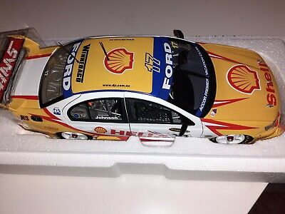 £125 • Buy Ford BA V8 Supercar Steven Johnson 2004 1/18 Scale Classic Collectables