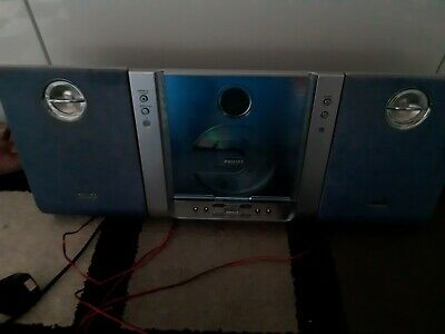 £30 • Buy Philips Micro Hi-Fi System MC230 Compact Disc CD - Fully Tested And Working